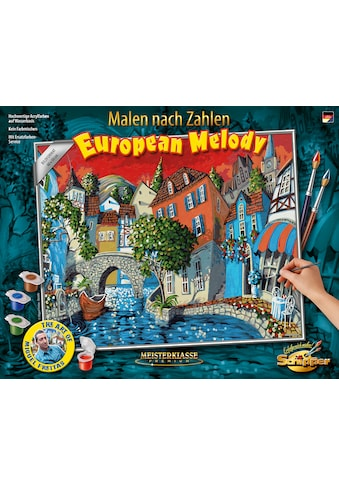 Schipper Malen nach Zahlen »Meisterklasse Premium - The European Melody«, Made in Germany kaufen