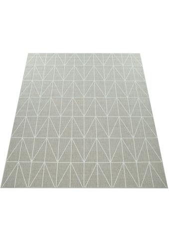 Paco Home Teppich »Brugge 224«, rechteckig, 4 mm Höhe, Flachgewebe, In- und Outdoor... kaufen