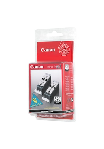 Canon Doppelpack Tintenpatrone »PGI - 520Bk« kaufen