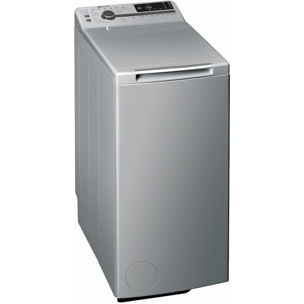 BAUKNECHT Waschmaschine Toplader »WMT Silver 7 BD N«, WMT Silver 7 BD N