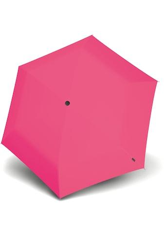 Knirps® Taschenregenschirm »US.050 Ultra Light Manual, Uni Neon Pink« kaufen