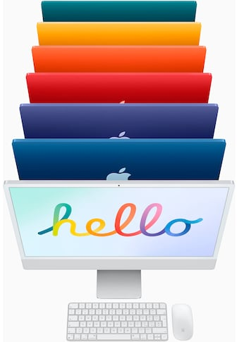 "Apple All-in-One PC »iMac 24"" mit 4,5K Retina Display« kaufen"