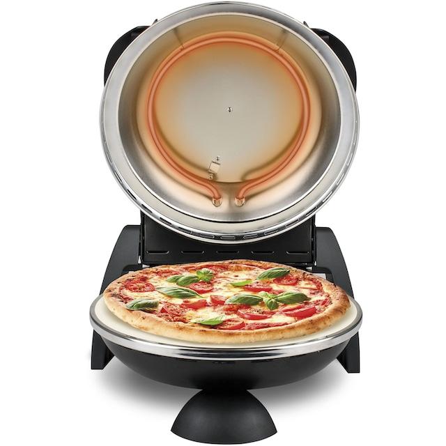 G3Ferrari, Pizzaofen »G1000610 Delizia schwarz«, Grill
