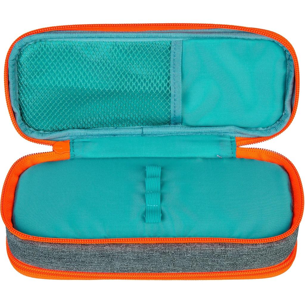 neoxx Schreibgeräteetui »Catch, Stay orange«, aus recycelten PET-Flaschen