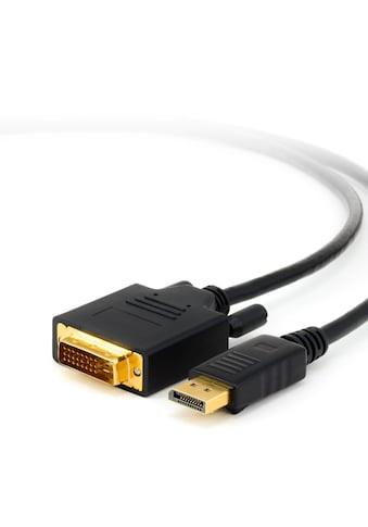 CSL DisplayPort auf DVI Monitorkabel / Zertifiziert »DVI-Stecker zu DP-Stecker (Male)« kaufen