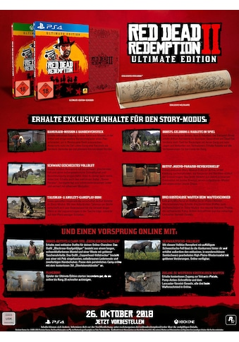 Red Dead Redemption 2 Ultimate Edition PlayStation 4 kaufen