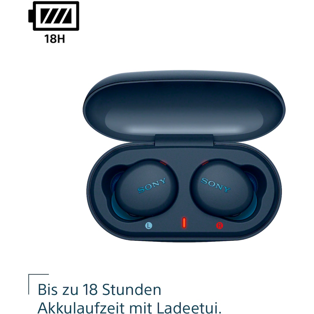 Sony wireless In-Ear-Kopfhörer »WF-XB700«, Bluetooth-NFC-A2DP Bluetooth (Advanced Audio Distribution Profile)-AVRCP Bluetooth (Audio Video Remote Control Profile), One-Touch Verbindung via NFC, Headset mit Mikrofon