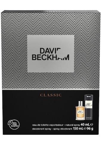 DAVID BECKHAM Duft-Set »David Beckham Classic«, (2 tlg.) kaufen