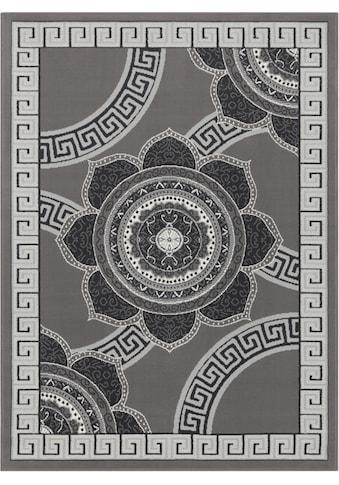 DELAVITA Teppich »Piers«, rechteckig, 8 mm Höhe, Kurzflor, Wohnzimmer kaufen