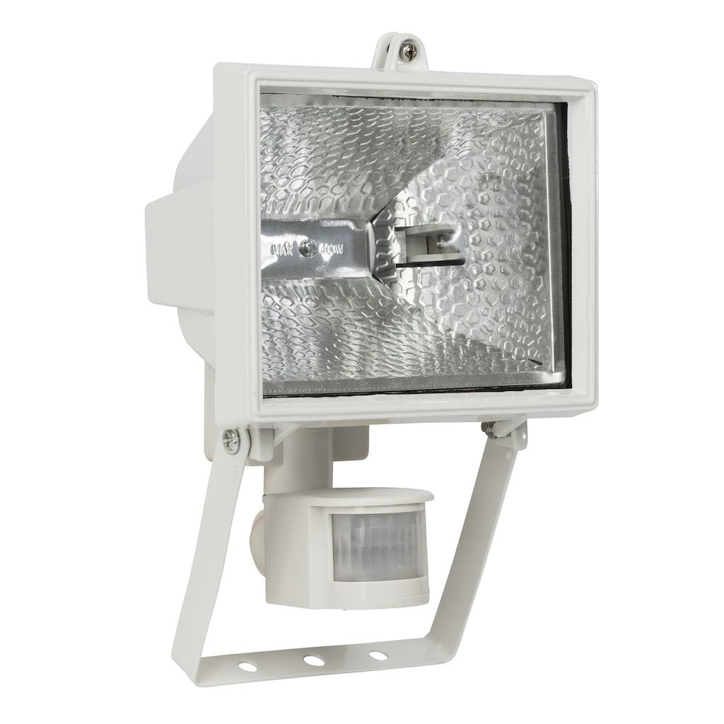 Brilliant Leuchten Tanko Außenwandstrahler 25cm Bewegungsmelder weiß