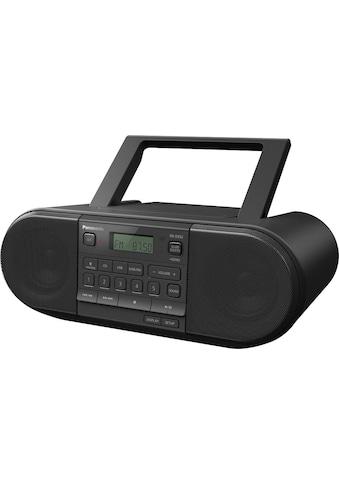 Panasonic Boombox »RX-D552E-K CD-«, (Bluetooth FM-Tuner-Digitalradio (DAB+)-UKW mit... kaufen
