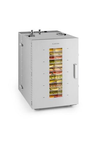 Klarstein Klarstein Master Jerky 16 Dörrautomat 1500W 40 - 90 °C 15h - Timer E »DHY6 - MasterJerky16« kaufen