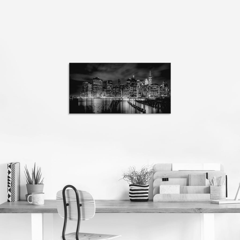 Artland Glasbild »New York City I«, Amerika, (1 St.)