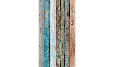 LIVINGWALLS Bordüre »pop.up Panel«, in Holzoptik, selbstklebend kaufen