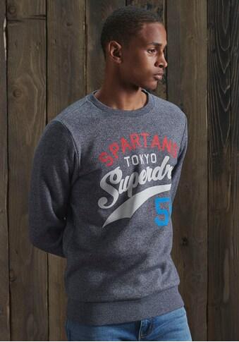 Superdry Sweatshirt »TRI CLASSIC CREW« kaufen