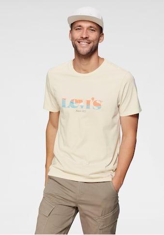 Levi's® Print-Shirt, in toller Farbkombination kaufen