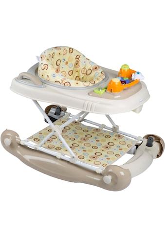 BabyGo Lauflernhilfe »Walker 4 in 1, beige« kaufen