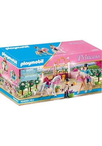 """Playmobil® Konstruktions - Spielset """"Reitunterricht im Pferdestall (70450), Princess"""", (185 - tlg.) kaufen"""
