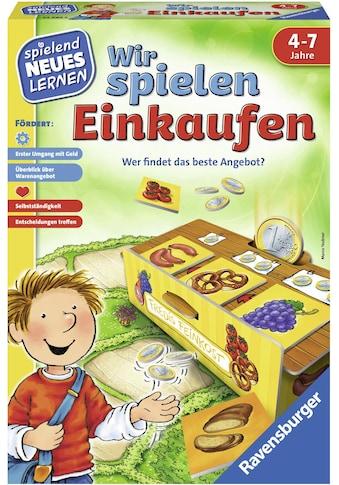Ravensburger Spiel »Wir spielen Einkaufen«, Made in Europe, FSC® - schützt Wald - weltweit kaufen