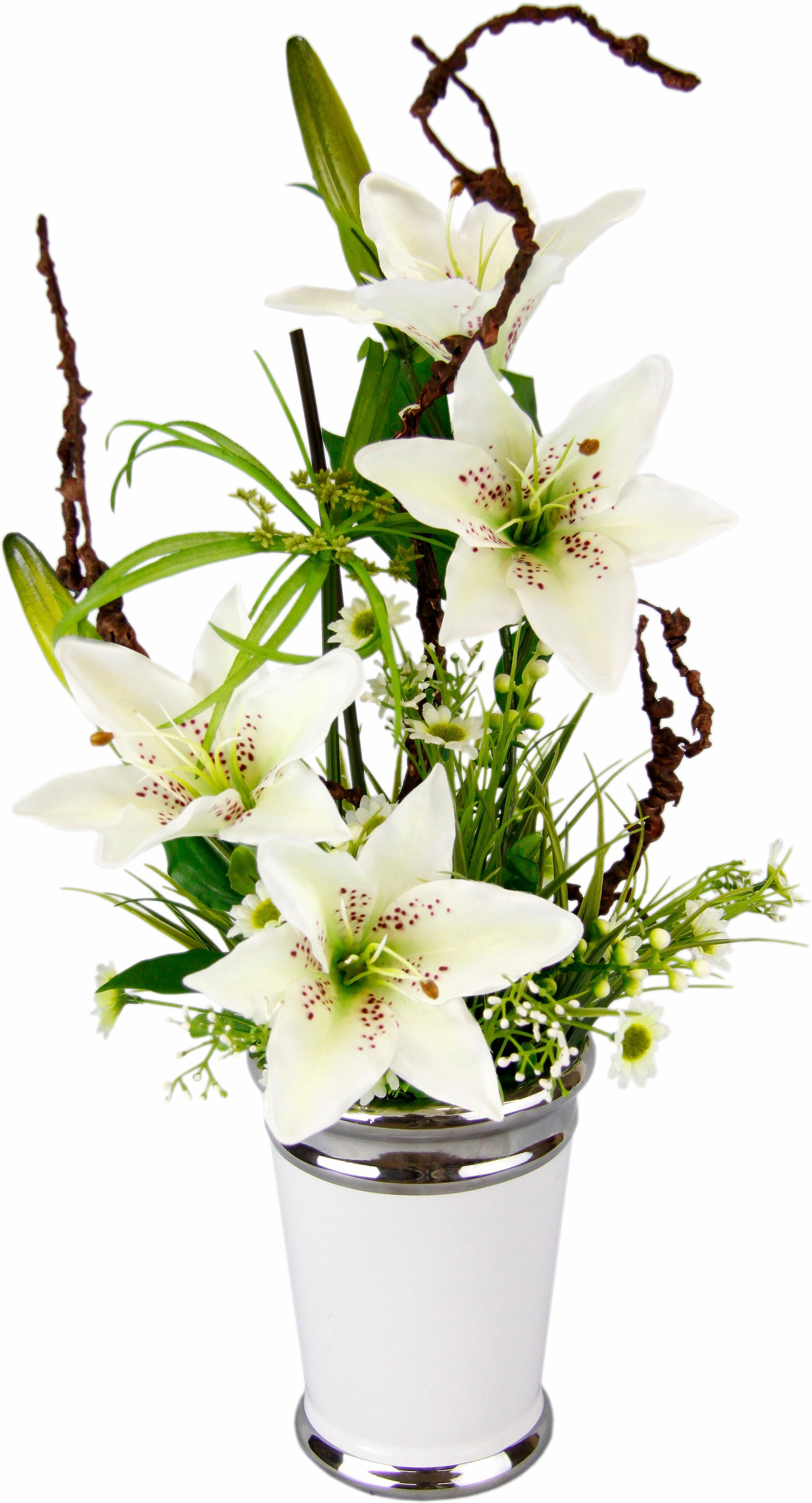 Home affaire Kunstpflanze »Lilien« (1 Stück) | Dekoration > Dekopflanzen > Kunstpflanzen | home affaire