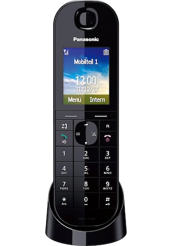 Panasonic Schnurloses DECT-Telefon »KX-TGQ400«, ( ), Weckfunktion, Freisprechen kaufen