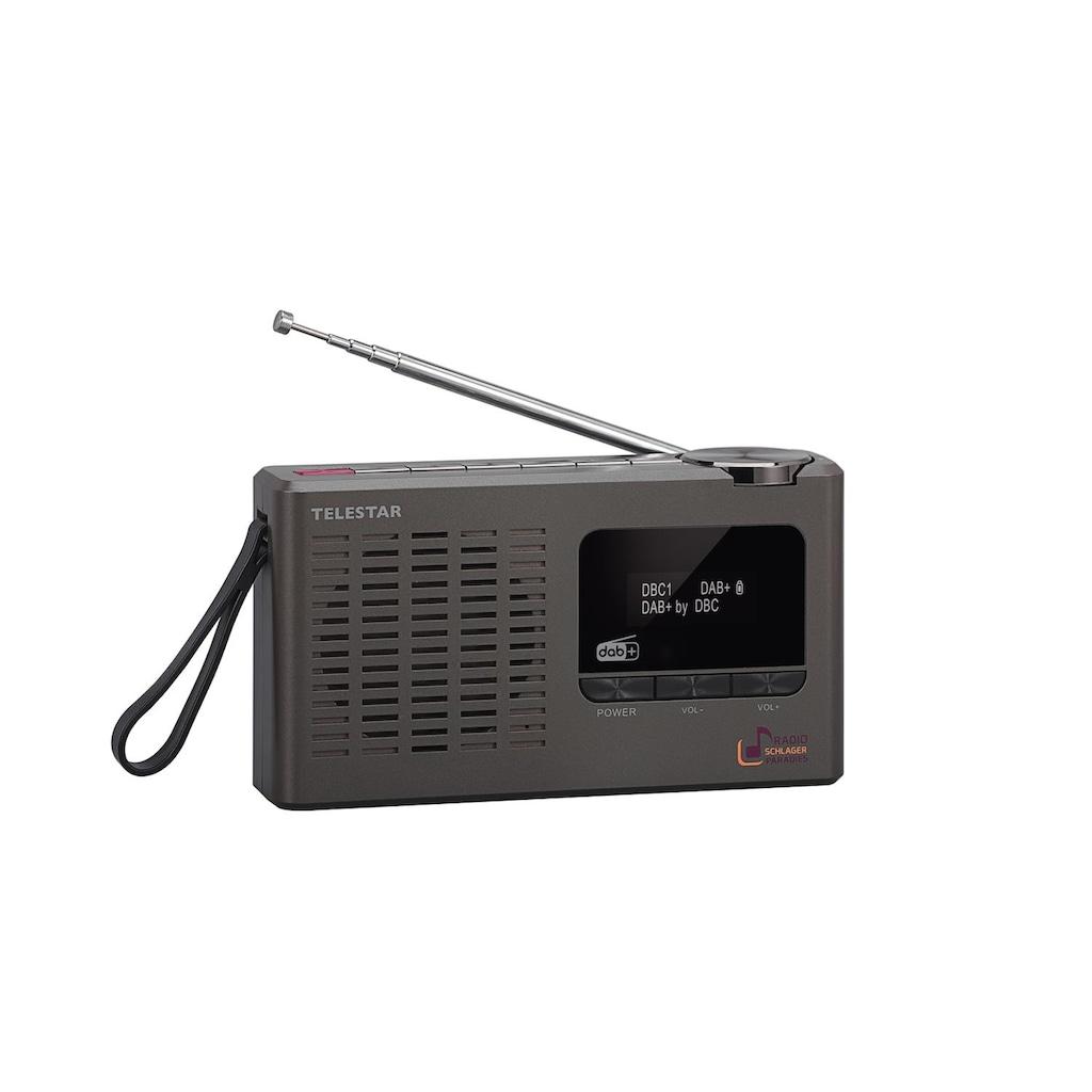 TELESTAR Digitalradio (DAB+) »SCHLAGERPARADIES Radio«, (Digitalradio (DAB+), Sonderedition mit Direktwahltaste