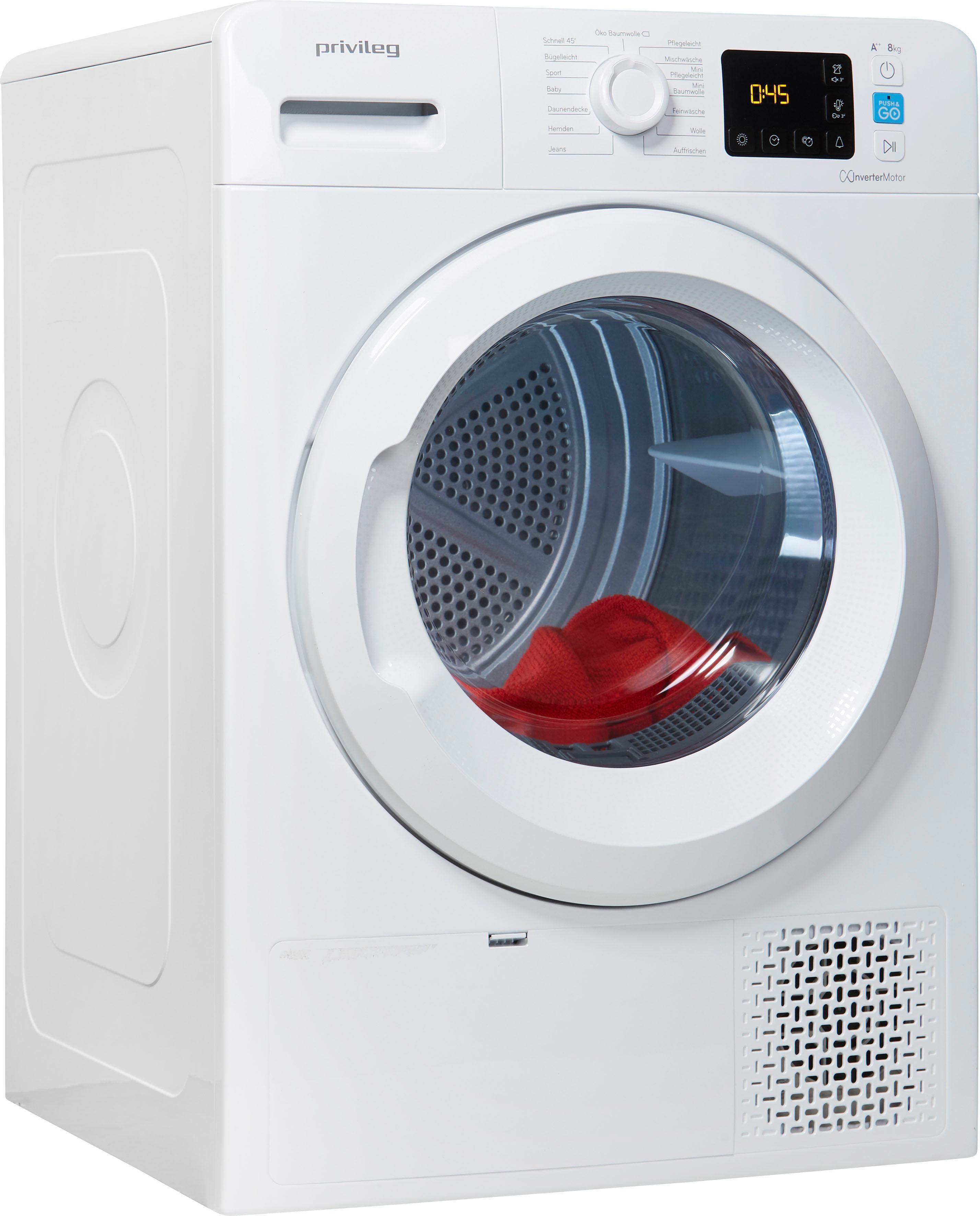 Privileg Wärmepumpentrockner PWCT M11 82 X DE, 8 kg | Bad > Waschmaschinen und Trockner > Wärmepumpentrockner | PRIVILEG