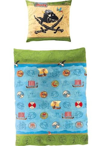 Capt`n Sharky Kinderbettwäsche »Wikinger«, in tollem Wendedesign kaufen