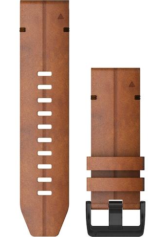 Garmin Ersatz - /Wechselarmband »Ersatzarmband QuickFit 26 mm Leder« kaufen