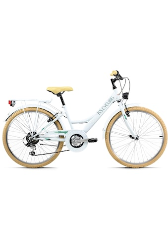 KS Cycling Jugendfahrrad »Toskana«, 6 Gang Shimano Tourney Schaltwerk, Kettenschaltung kaufen