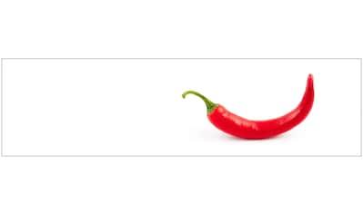 Küchenrückwand  -  Spritzschutz »profix«, Hot Chili, 220x60 cm kaufen