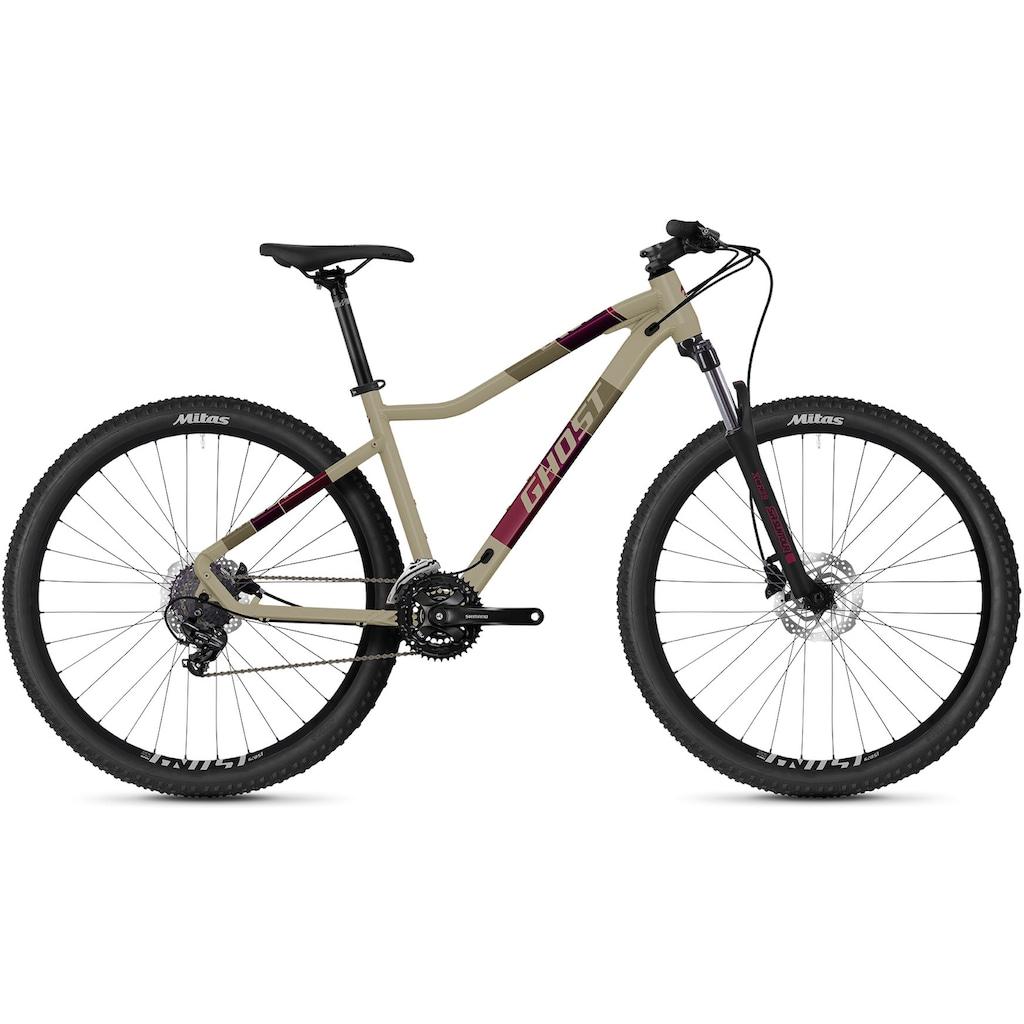 Ghost Mountainbike »Lanao Base 27.5 AL W«, 21 Gang, Shimano, Tourney 7-fach Schaltwerk, Kettenschaltung