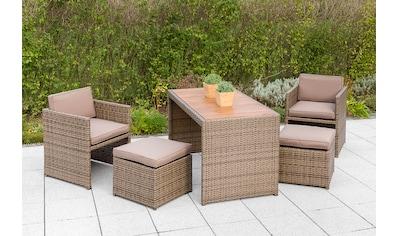 MERXX Gartenmöbelset »Merano Wicker« kaufen