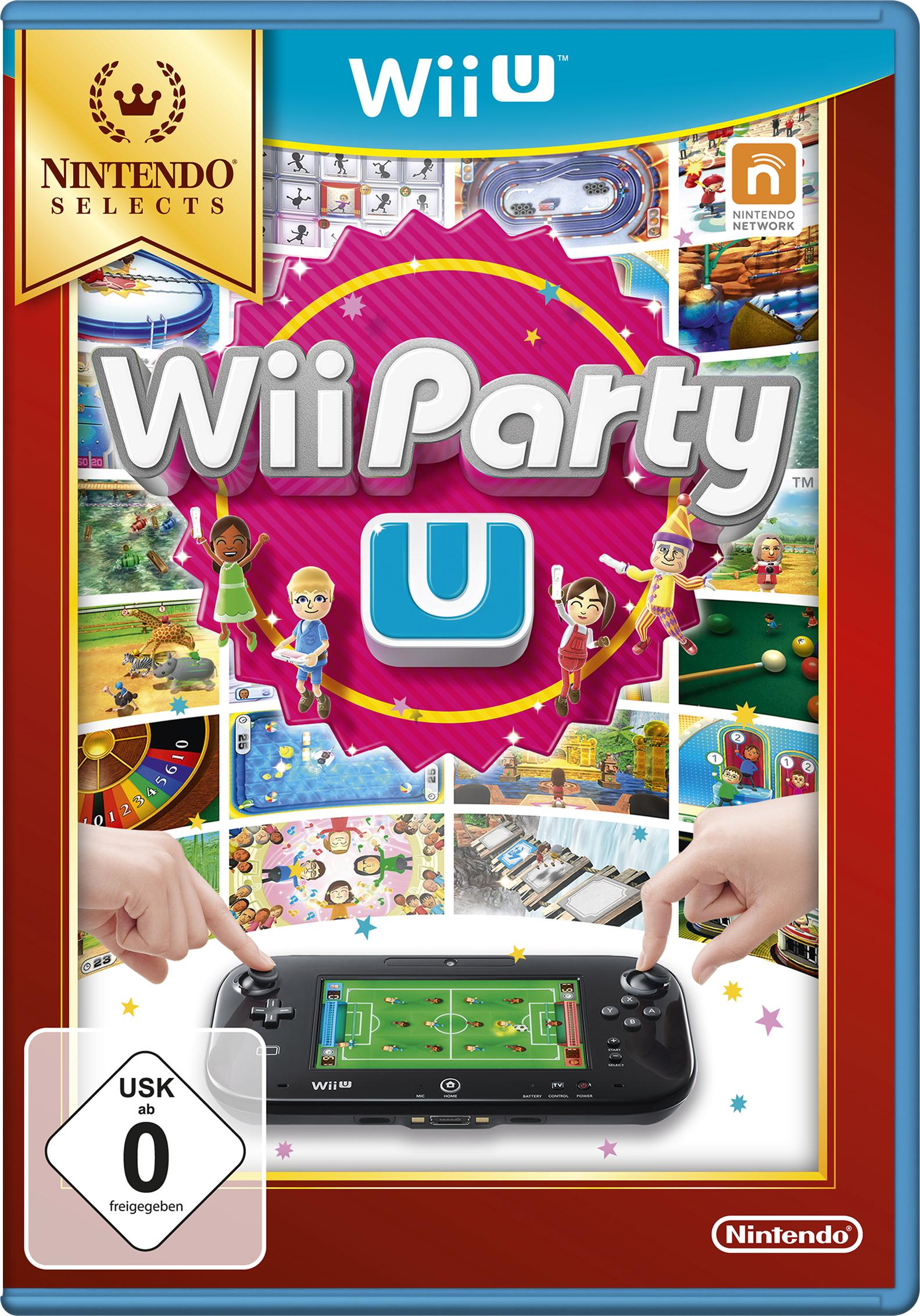 wii party u nintendo selects nintendo wii u auf rechnung. Black Bedroom Furniture Sets. Home Design Ideas