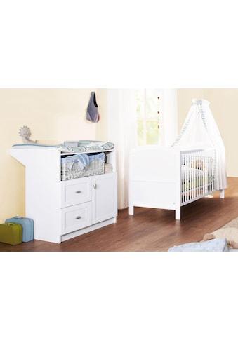 Pinolino® Babymöbel-Set »Laura«, (Spar-Set, 2 St.), mit Kinderbett und Wickelkommode;... kaufen