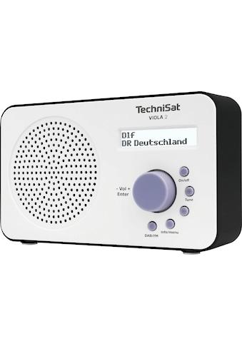 TechniSat Digitalradio (DAB+) »VIOLA 2 Tragbares«, ( Digitalradio (DAB+)-UKW mit RDS... kaufen