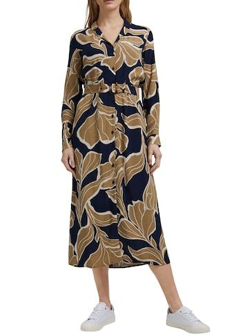 Esprit Collection Blusenkleid, (mit Gürtel), mit plakativem Botanik-Alloverprint und... kaufen