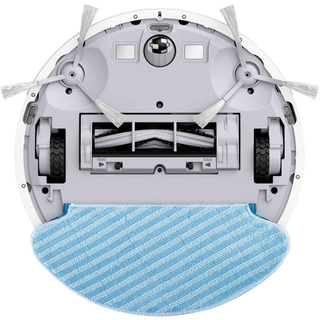Rowenta Nass-Trocken-Saugroboter »RR7447 X-Plorer Serie 60; 2 in 1 Reinigung; Saugen & Wischen auf 90m², weiß,«, WLAN-Konnektivität; Sprachsteuerung; Allergy Connect