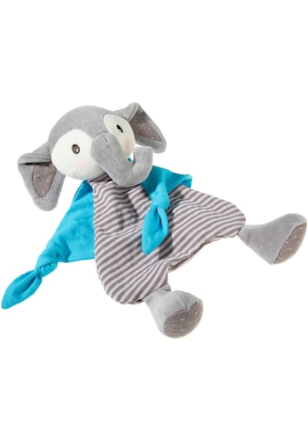 Heunec® Schmusetuch »FrohNATURen GOTS Elefant, riverblue«, organic, zertifiziert durch CERES-0560 kaufen