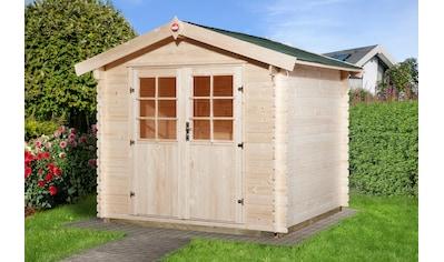 WEKA Gartenhaus »Jens Gr.2«, BxT: 288x280 cm kaufen