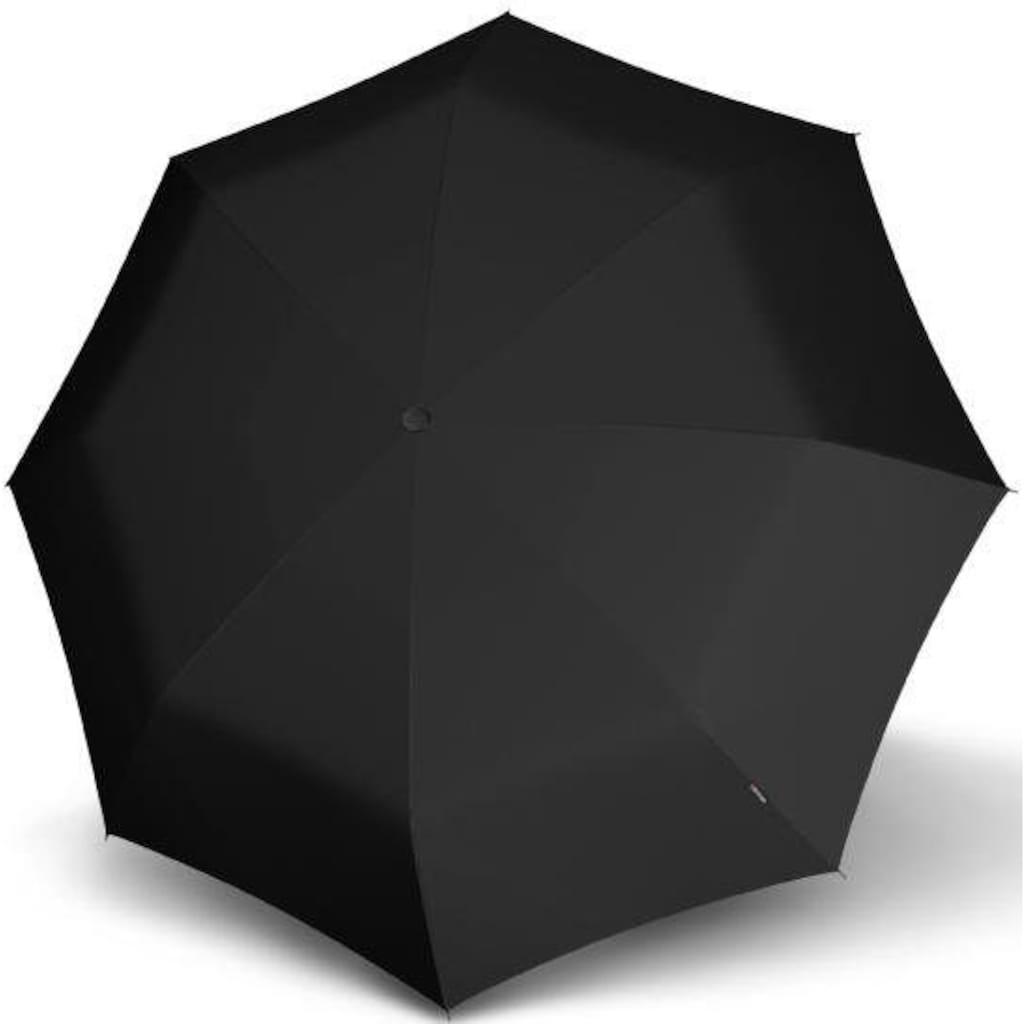 Knirps® Taschenregenschirm »S.570 Large Automatic, uni black«
