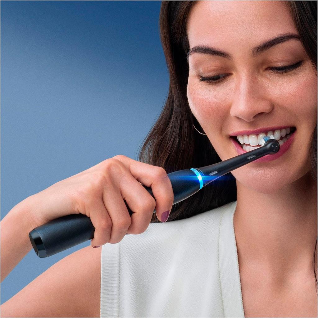 Oral B Elektrische Zahnbürste »iO Series 8N mit 2. Handstück«, 1 St. Aufsteckbürsten, Magnet-Technologie