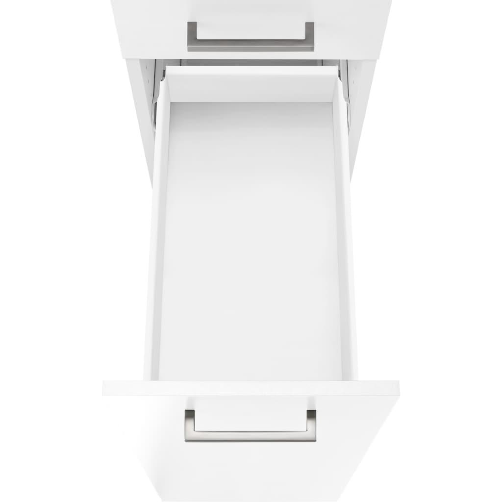 OPTIFIT Apothekerschrank »Iver«, Breite 30 cm, mit 2 Auszügen, 5 Ablagen