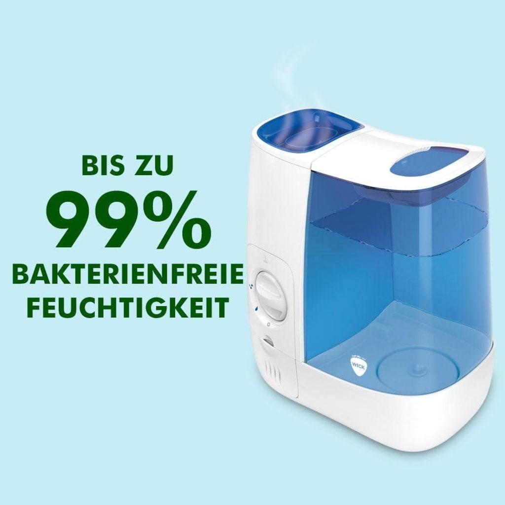 WICK Luftbefeuchter »WH845 Warmluft-Befeuchter«, 3,8 l Wassertank, bis zu 99 % bakterienfreie Feuchtigkeit