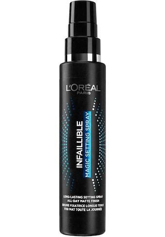 L'ORÉAL PARIS Fixierspray »Infailllible Magic Setting Spray« kaufen