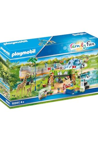 Playmobil® Konstruktions-Spielset »Mein großer Erlebnis-Zoo (70341), Family Fun«, (213... kaufen