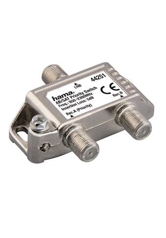 Hama AB/SAT-Prioritätsschalter kaufen