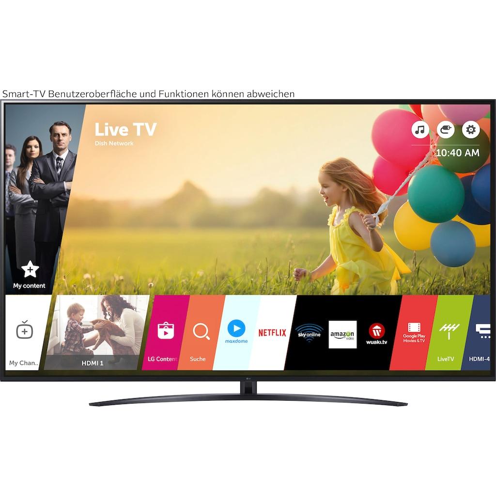 """LG LCD-LED Fernseher »75UP81009LA«, 189 cm/75 """", 4K Ultra HD, Smart-TV"""