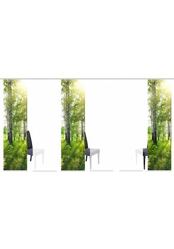 HOME WOHNIDEEN Schiebegardine »GALWAY«, HxB: 245x60, inkl. Befestigungszubehör kaufen