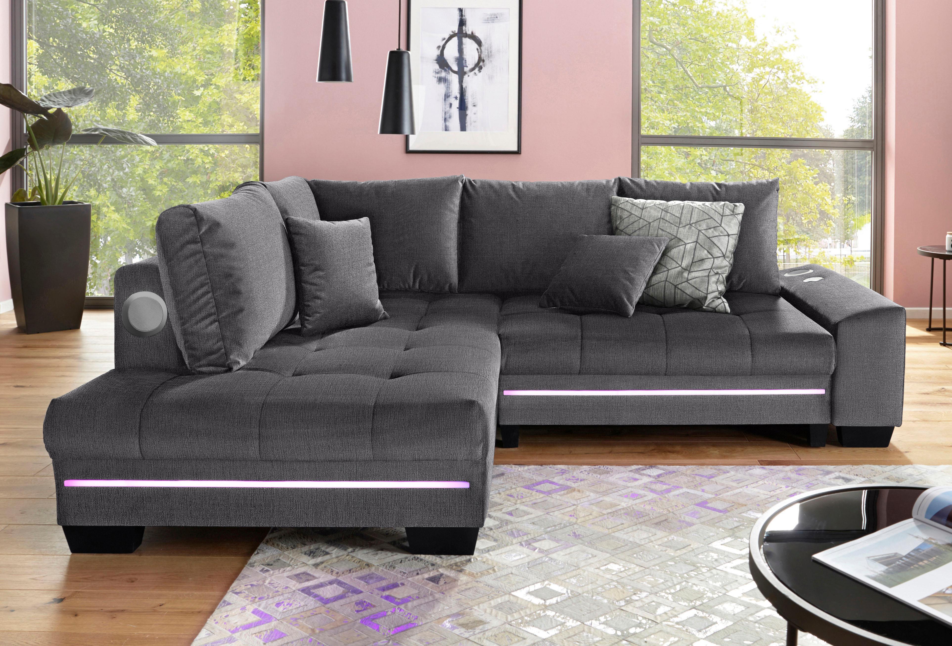 Verzauberkunst Sitzmöbel Wohnzimmer Foto Von Nova Via Polsterecke, Wahlweise Mit Bettfunktion